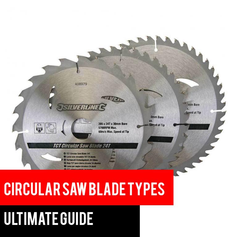 Circular saw blades types