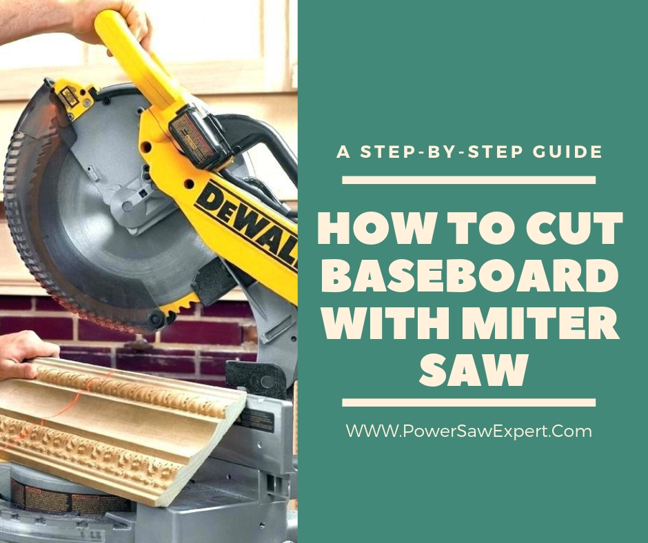 How to cut baseboard with a miter saw