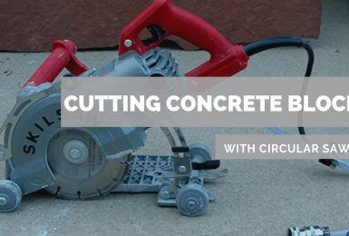 How to Cut Concrete Blocks with Circular Saw THE RIGHT WAY