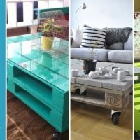 33 Inspirational Ideas on How to Make a Coffee Table with Pallets
