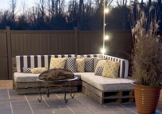 romantic pallet furniture