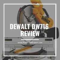 In-Depth Review: DeWalt DW716 Double-Bevel Compound Miter Saw