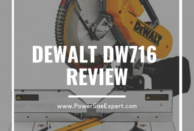 In-Depth Review: DeWalt DW716 Double-Bevel Compound Miter Saw