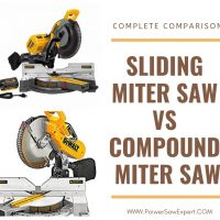 A Complete Comparison: Sliding Miter Saw VS Compound Miter Saw