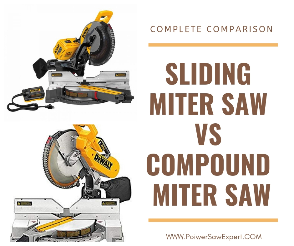 Sliding Miter Saw VS Compound Miter Saw