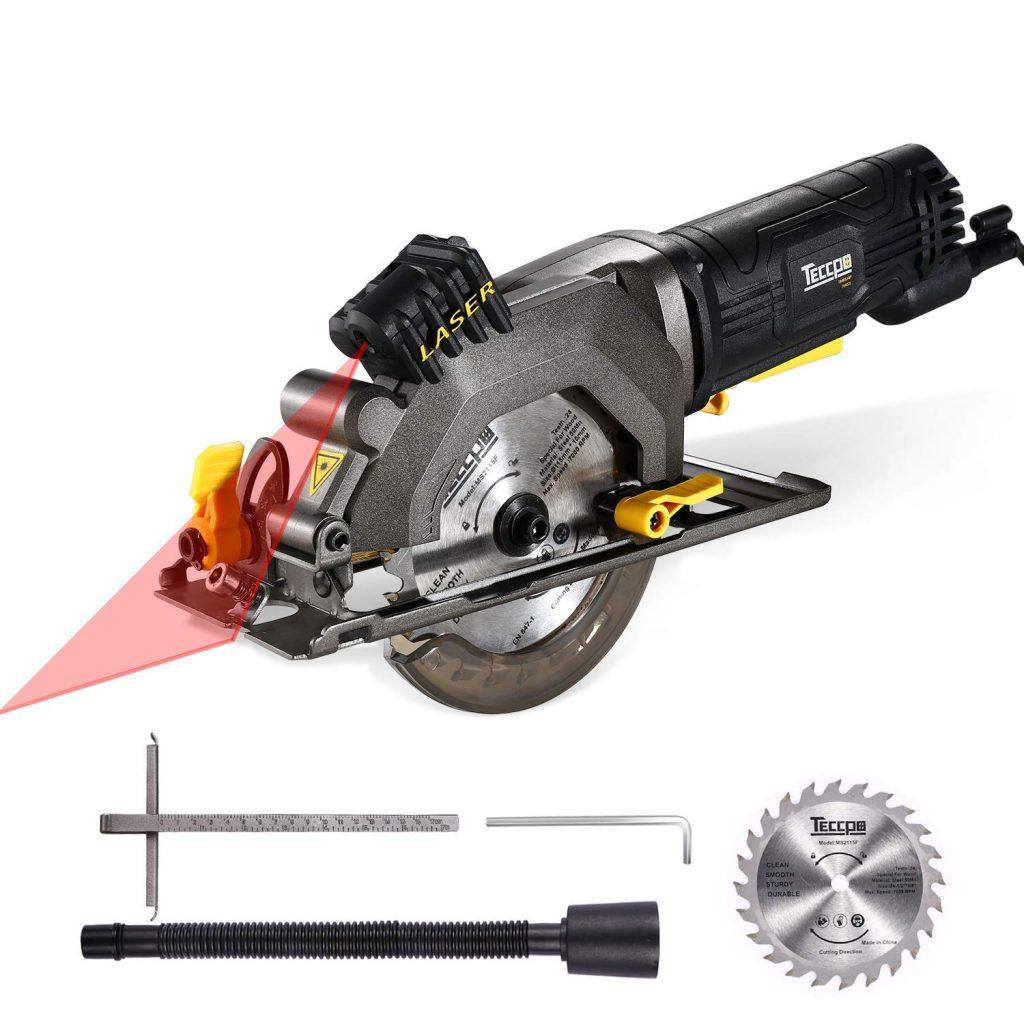 TECCPO TAMS24P Compact Circular Saw