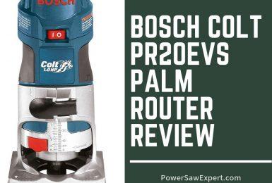 Bosch Colt PR20EVS Palm Router Review
