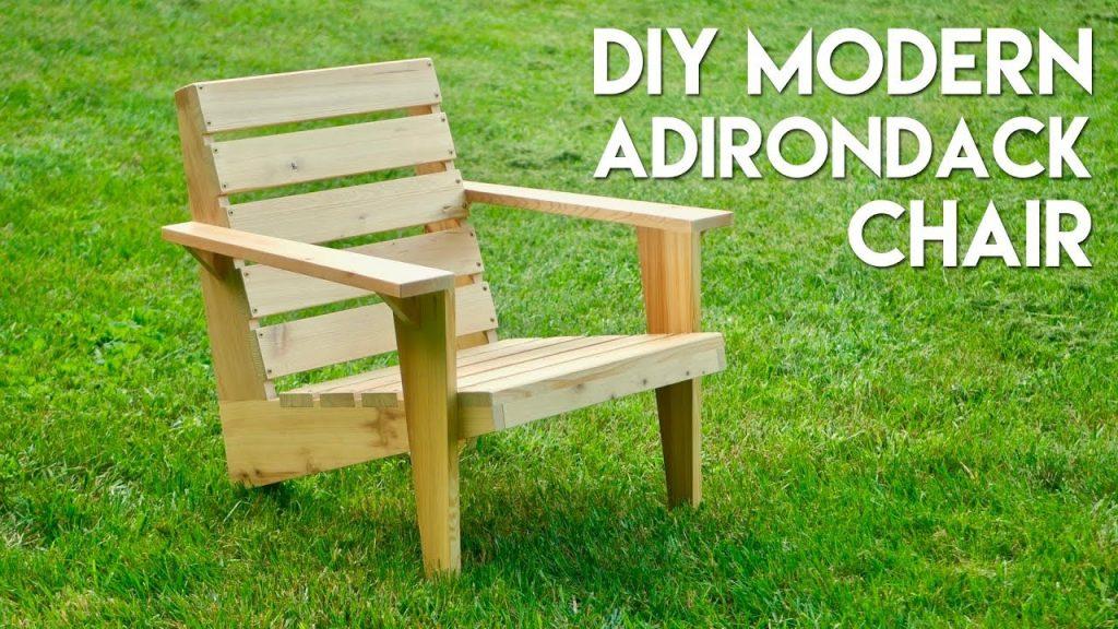 diy Adirondack Chair