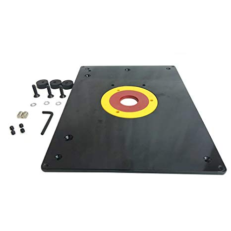 router table base plate