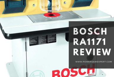 Bosch RA1171 Router Table Complete Review and Comparison